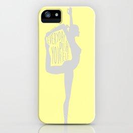 Lovin' Yoga III iPhone Case
