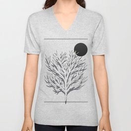 Moon food Unisex V-Neck