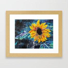 Sunshine Daisy Butter Mellow Framed Art Print
