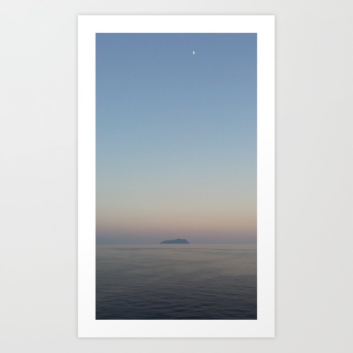 Middle of Nowhere Art Print