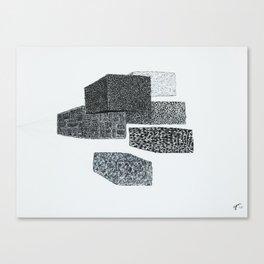 Volumes Canvas Print
