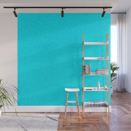Cracked Glass - Turquoise Wall Mural