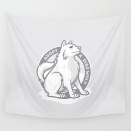 Adopt A Dire Wolf Wall Tapestry
