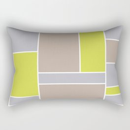 Abstract #4 Rectangular Pillow