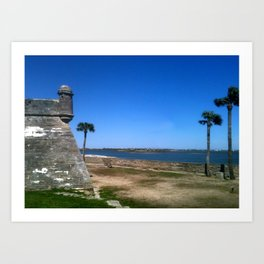 St. Augustine 2012 The MUSEUM Zazzle Gifts - Society6 Art Print