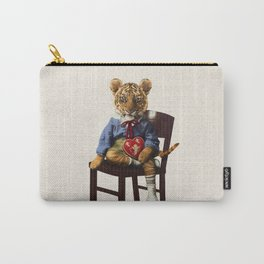 Tiny Tiger Valentine Carry-All Pouch