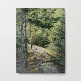 Abandoned Railroad Metal Print