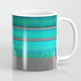 """""""Architecture, cement texture & colorful II"""" Coffee Mug"""