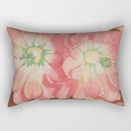 Desert Blossoms Rectangular Pillow