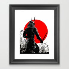 The way of warrior Framed Art Print