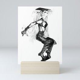 LadyGaga Goverment H! Fashion! Mini Art Print