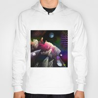hologram Hoodies featuring Moonlight Drive by Antonio Jader