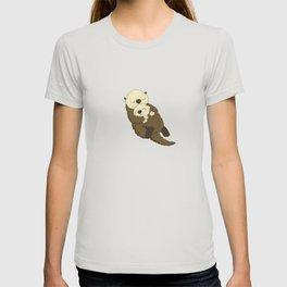 otter sleeping T-shirt