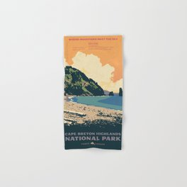 Cape Breton Highlands National Park Hand & Bath Towel