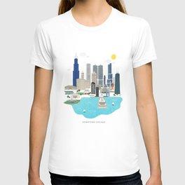 Chicago Illustration T-shirt