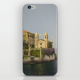 Villa at Lake Como iPhone Skin