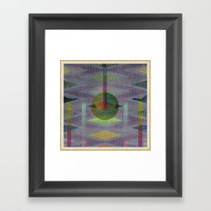 SOMEONE GWUMPY Framed Art Print