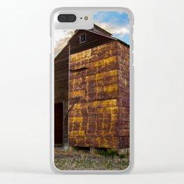 Grain Elevator 3 Clear iPhone Case