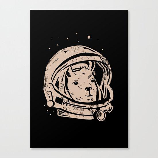 Astrollama Canvas Print