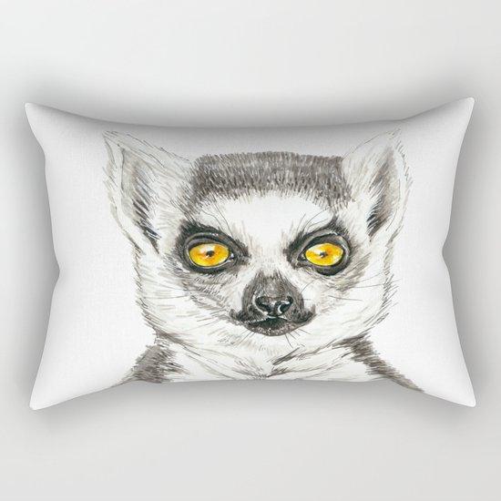Lemur Rectangular Pillow