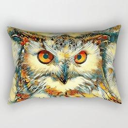AnimalArt_Owl_20170912_by_JAMColorsSpecial Rectangular Pillow