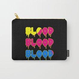 Blood Blut Hallowenn Text Vampir Carry-All Pouch