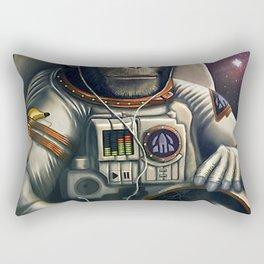 Space monkey Rectangular Pillow