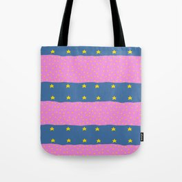 Stars and stripes with a twist Tote Bag