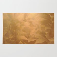 Brushed Copper Metallic - Rustic Glam - Faux Finishes Rug