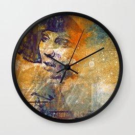 Sci-fi Girl Wall Clock