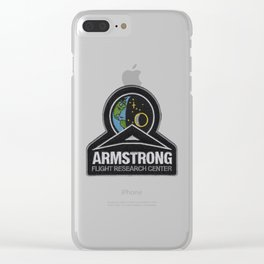 Armstrong Flight Research Center Logo Clear iPhone Case