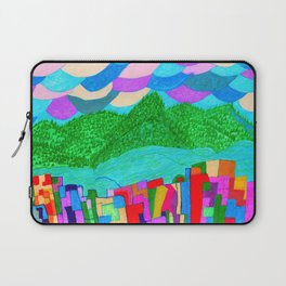 The Forcast for Today, Looks Bright. Have a Good One! Laptop Sleeve