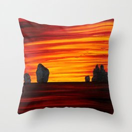 Koh Samui Sunrise Throw Pillow