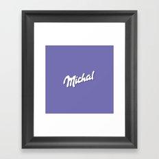Michal Framed Art Print