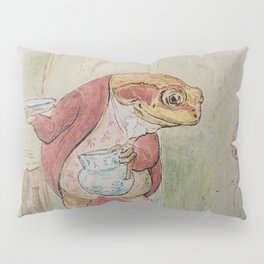 Jeremy Fisher by Beatrix Potter Pillow Sham