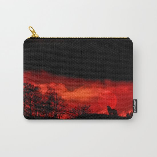 Cry wolf Carry-All Pouch