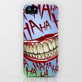 HAHAHA iPhone Case