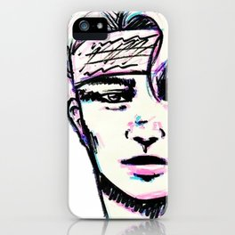 Guy in bandana iPhone Case