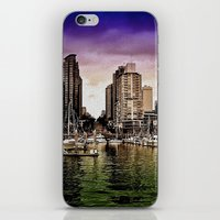 vancouver iPhone & iPod Skins featuring Vancouver Storm by Anthony M. Davis