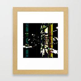 ALONG CAME A SPIDER Framed Art Print