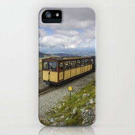 Train To Snowdon iPhone Case