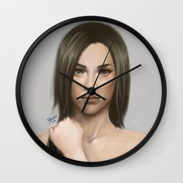 Don't look away Wall Clock
