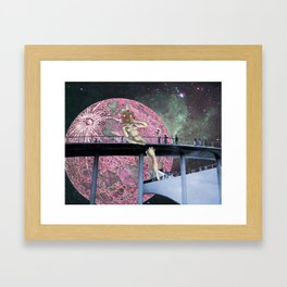 Less Than Human Framed Art Print