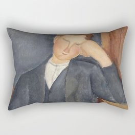Amedeo Modigliani - The Young Apprentice Rectangular Pillow