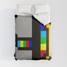 Daft minimal pixel Comforters