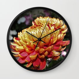 Mother's Day Flowers Wall Clock