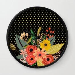 Flowers bouquet #2 Wall Clock