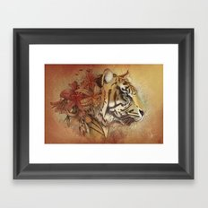 Tigerlily Framed Art Print
