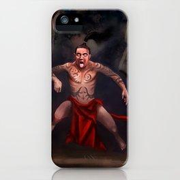 Haka Warrior iPhone Case