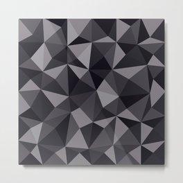 Geometric pyramids V7 Metal Print